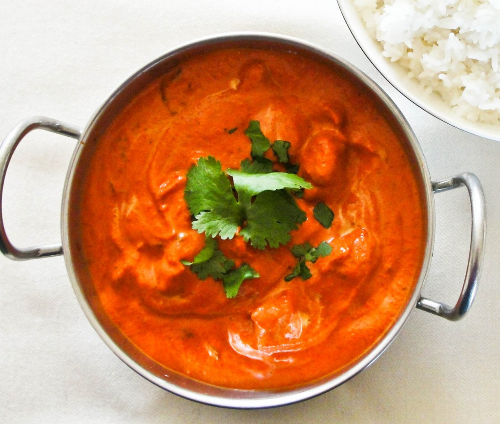 indian food chicken tikka masala