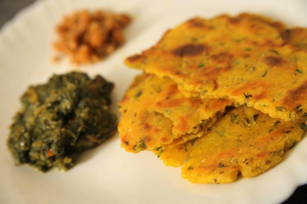 Punjabi Makki Di Roti