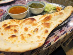 Naan indian food