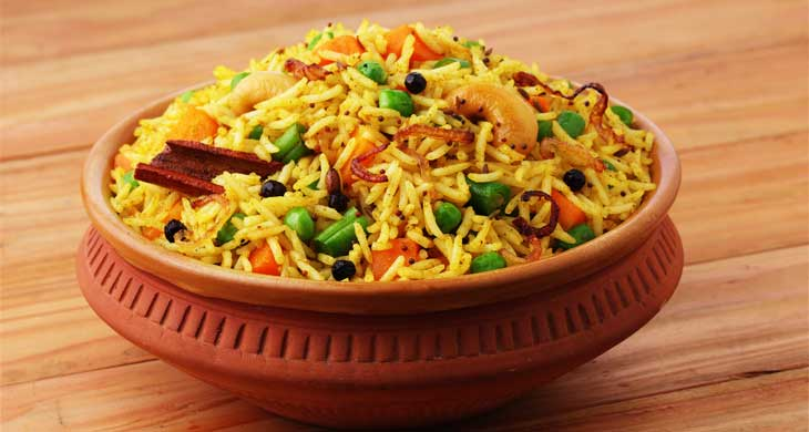 lucknow Vegetable Biryani
