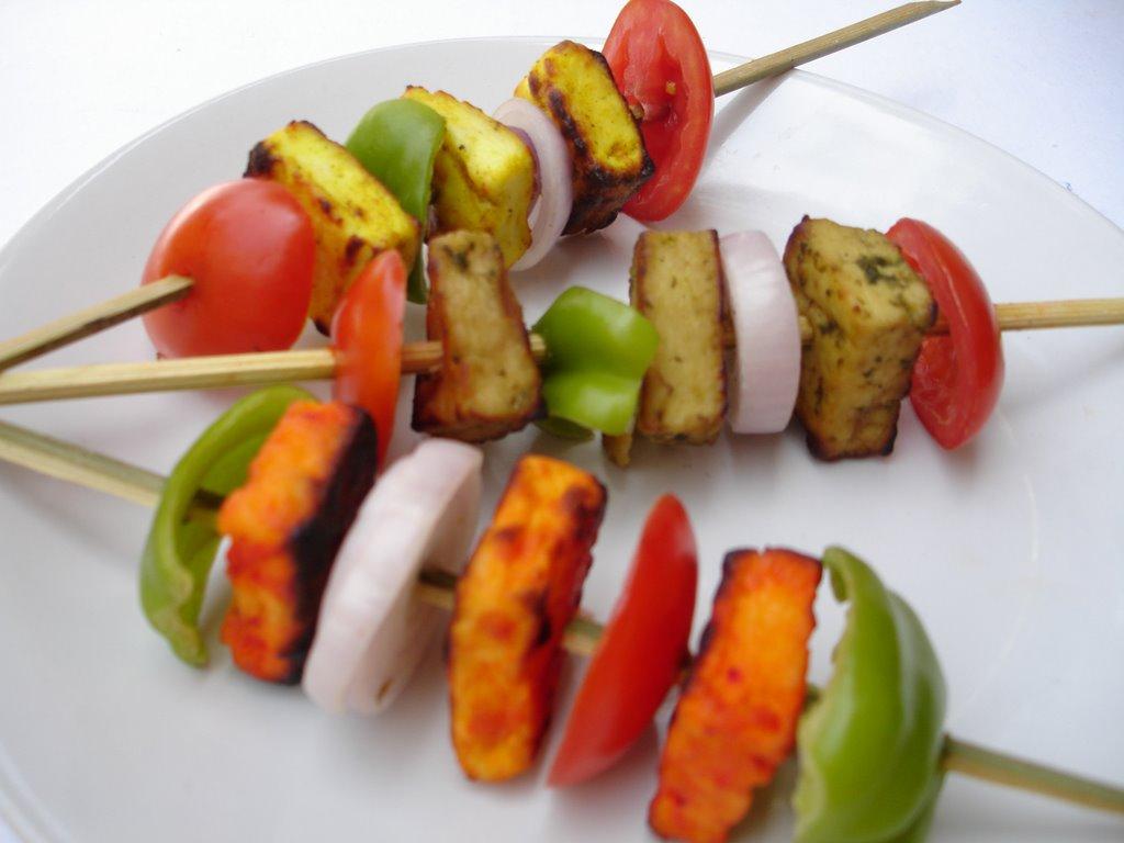 Hyderabadi Paneer Kebabs