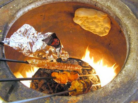 Tasty Tandoor Baked Indian Dishes