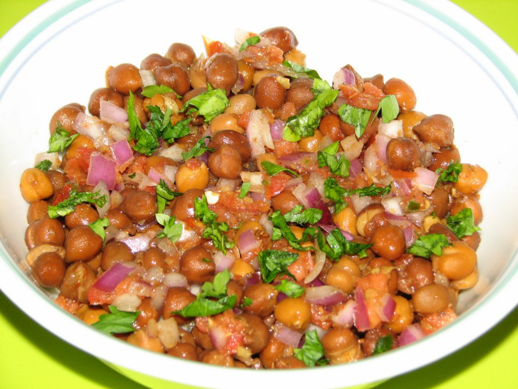 chana chaat : North Indian Staple
